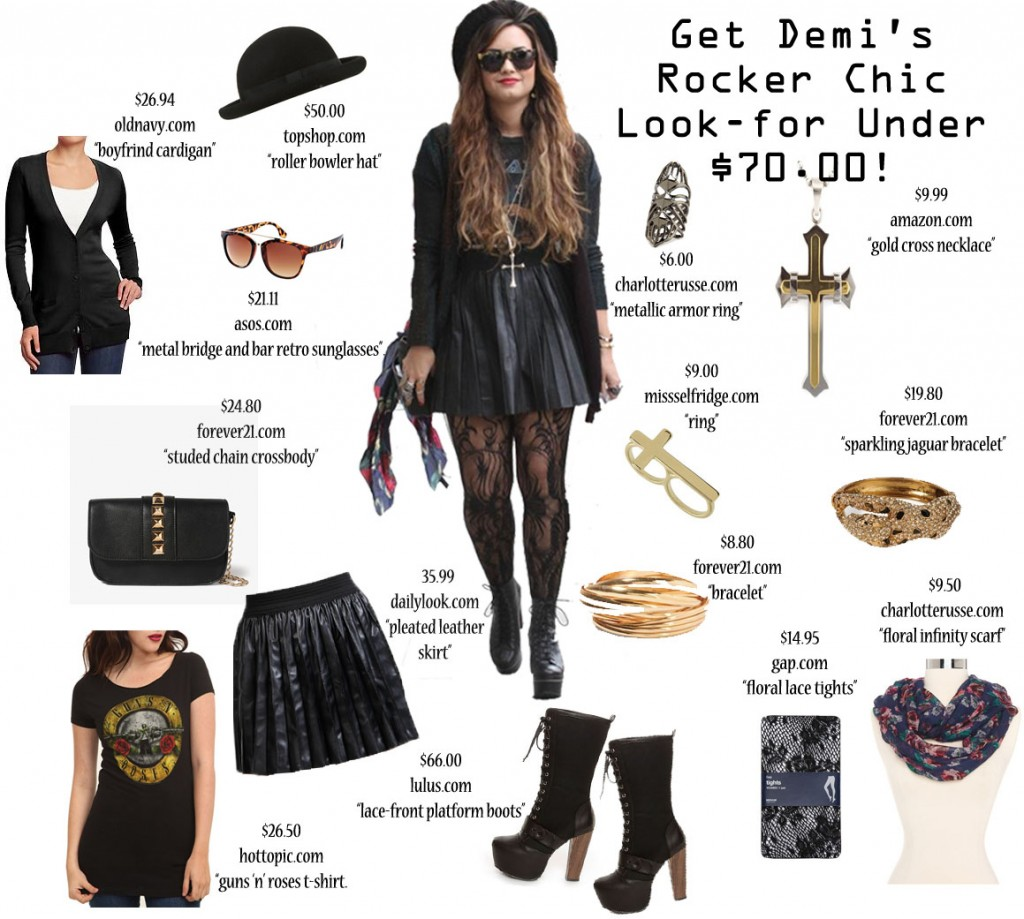 Steal The Look Get Demi Lovato S Look For Less Fashion