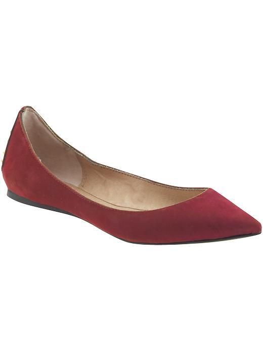 Red Steve Madden Pointy Flats
