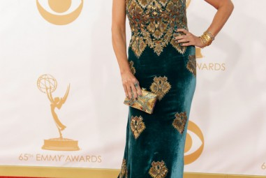 Disputing the 'Worst Dressed' list: Connie Britton 2013 Emmy Awards