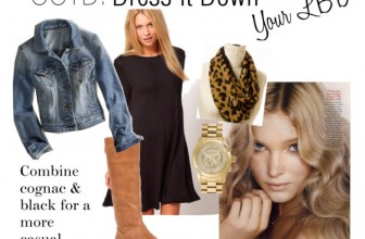 OOTD: Dress Down Your Little Black Dress