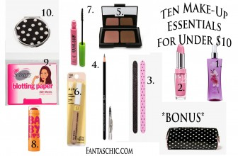 Ten Make-Up Items For Under $10!