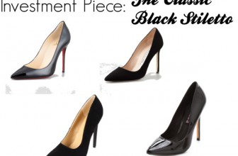 PPW: The Classic Black Stiletto