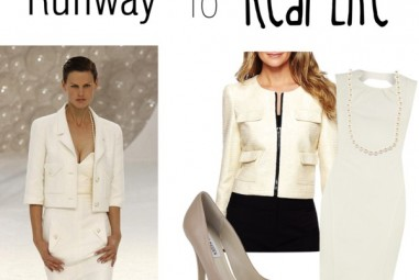 Runway To Real Life: Winter-White Chanel