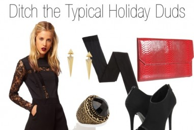 OOTD: Ditch the Typical Holiday Duds