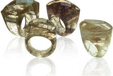 Fall Fashion Alert: Get pretty punk style with rutilated quartz